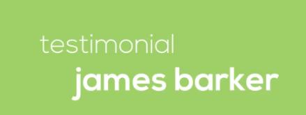 Video Testimonial – James Barker